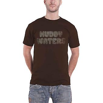Muddy Waters T Shirt Electric Mud Vintage new Official Mens Brown