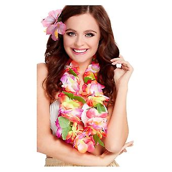 Womens Hawaiian Lei Fancy Dress Accessory
