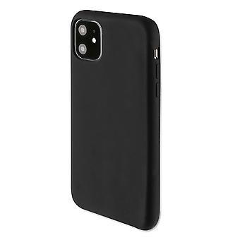 4smarts Soft Silikon Case Cupertino für Apple iPhone 11 Schwarz Schutzhülle Tasche Etui