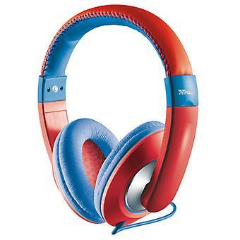 Trust headphone Sonin Kids Red/Blue
