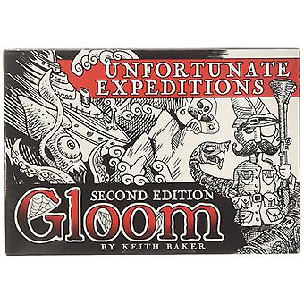 Gloom Second Edition Expansion Unfortunate Expeditions Card Game