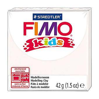 Fimo Kids Modelling Clay, White, 42 g