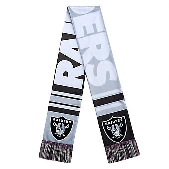 Forever Collectibles Scarf - BIG LOGO Oakland Raiders