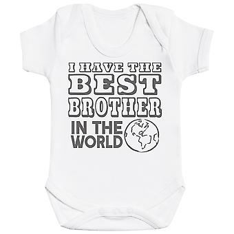 I Have The Best Brother In The World Baby Bodysuit