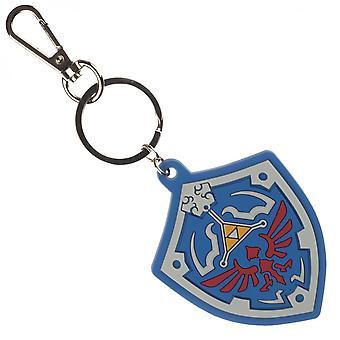 Zelda Shield Soft Touch Keychain