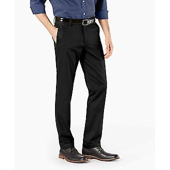 Dockers Men-apos;s Big and Tall Modern Tapered Fit Signature, Noir, Taille 44W x 32L