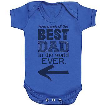 Beste vader ooit in de wereld Baby Romper-baby cadeau