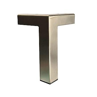 Edelstahl Design Eckbein 15 cm