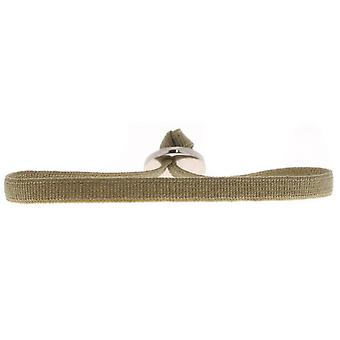 Les austauschbare Armband A46549 - 4mm Khaki Medium Damen Band
