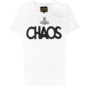 Vivienne Westwood Anglomania Classic Chaos T-shirt Blanc