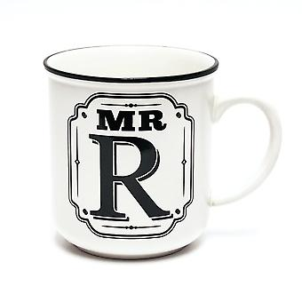 History & Heraldry Alphabet Mugs-mr R