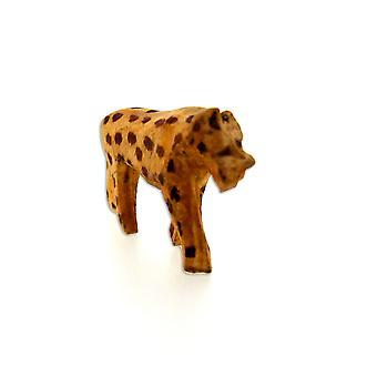 Wooden Handmade Cheetah Sculpture – 7.5 cm