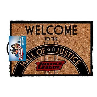 Dc comics - hall of justice doormat