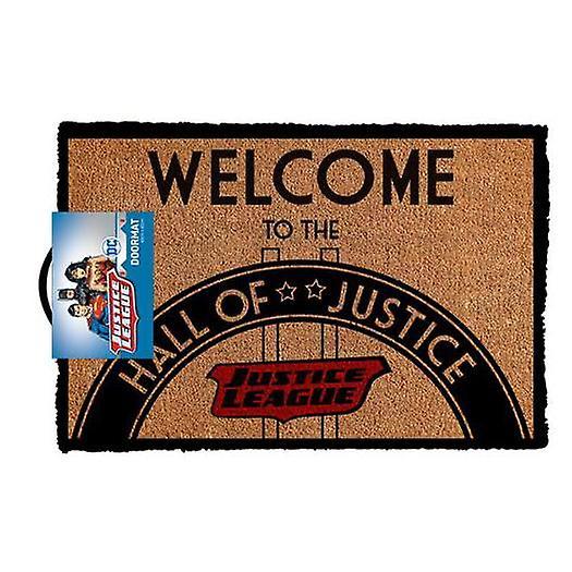 Dc comics - hall of justice doormat
