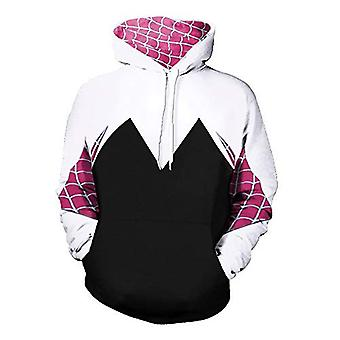 CosplayLife Gwen Stacy Pullover Hoodie (Medium), Gwen Stacy, Storlek Medium