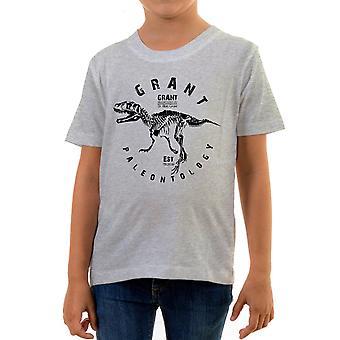 Reality glitch grant palaeontology kids t-shirt