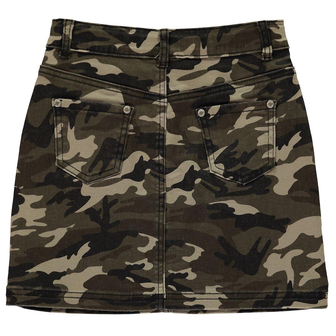Firetrap Kids Camo Mini Skirt Girls Juniors