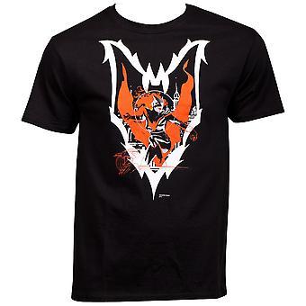 Batwoman personaje acción Pose dentro de símbolo camiseta