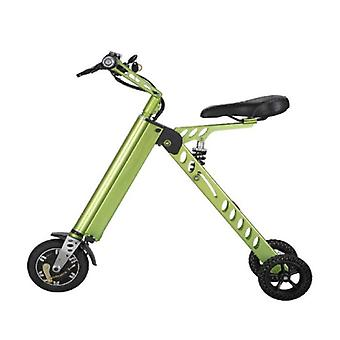 Stuff Certified® Ultralight Electric Folding Smart e Scooter 250W - 8 inch - three wheels - Green