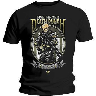 Fem Finger Death Punch Sniper Offisiell Tee T-skjorte Menns Unisex