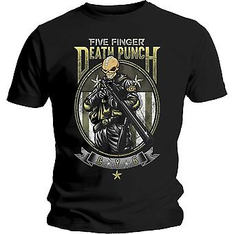 Fem finger Death Punch Sniper officiella Tee T-Shirt Mens Unisex
