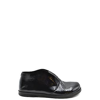 Marsell Ezbc446004 Women's Black Patent Leather Loafers
