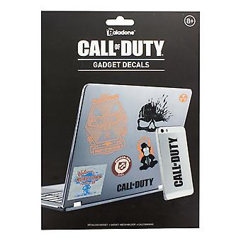 Call of Duty Riusable Gadget Impermeabile Decalcomanie 4 Fogli adesivi concessi in licenza