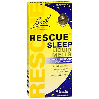Bach rescue sleep liquid melts, capsules, 28 ea