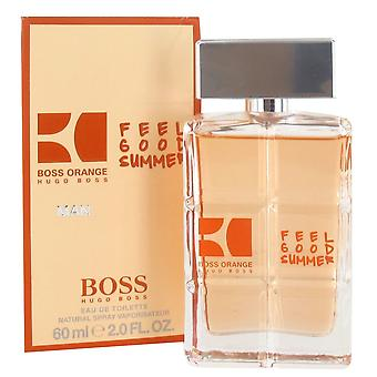 Hugo Boss Orange Mann fühlen gut Sommer Eau de Toilette Spray 60ml