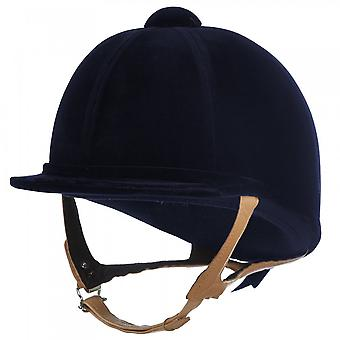 Charles Owen Showjumper Xp Riding Hat - Navy Blue