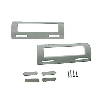 2 x Logik universel blanc réfrigérateur congélateur porte poignée 80mm - 150mm
