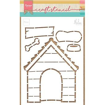 Marianne Design Stencil Doghouse By Marleen Ps8030 149x210mm