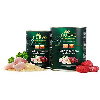 Nuevo Junior Canned Chicken And Beef (Dogs , Dog Food , Wet Food)