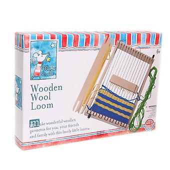Loom traditionnel en laine en bois - Cadeau en boîte