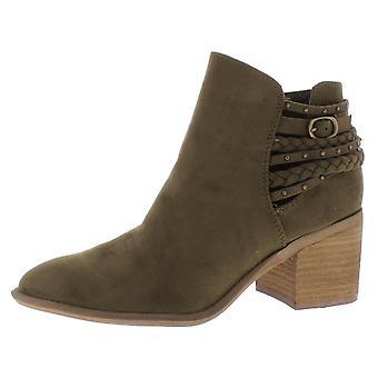 Carlos by Carlos Santana Women's Ashby Ankle Boot, Tuscan Olive, 9 Medium US