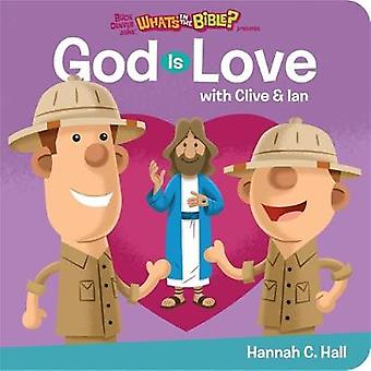 God is Love by Hannah C. Hall - 9781546012016 Book