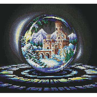 Andriana Cross Stitch Kit -  Spheres of Desire - Winter Wonder