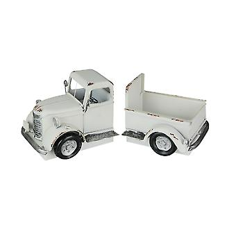 Vintage Pick-up truck distressed afwerking metalen bookends voor en achter
