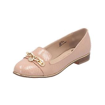 River Island RAD UPDATE Women's Loafer Beige Slip-Ons Business Shoes