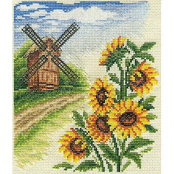 Panna Cross Stitch Kit : Windmill