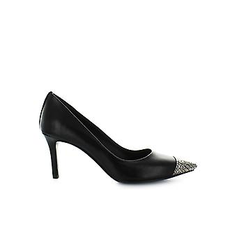 MARC ELLIS BLACK SILVER PUMP