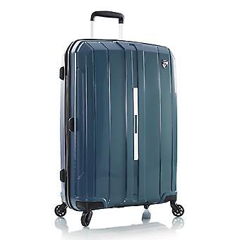 Heys Maximus Trolley M, 4 Rollen, 69 cm, 94  L, Blau-grün