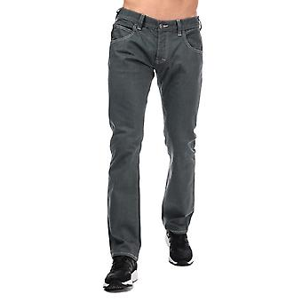 Armani jeans men's j08 regular fit grey jeans