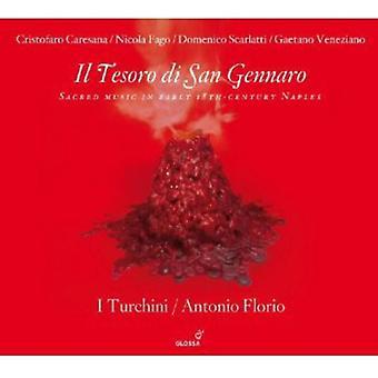 Scarlatti/Fago - Il Tesoro Di San Gennaro [CD] USA import