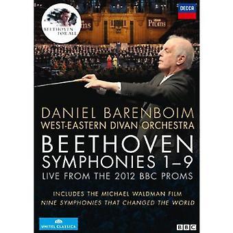 L.V. Beethoven - importación de Estados Unidos nueve sinfonías [DVD]