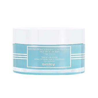 Sisley Triple-Oil Balm Make-Up Remover & Cleanser 4.4oz 125g