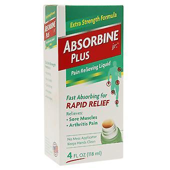 Absorbine jr. pain relieving liquid, rapid relief, 4 oz *