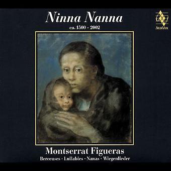 Montserrat Figueras - Ninna Nanna [CD] USA import