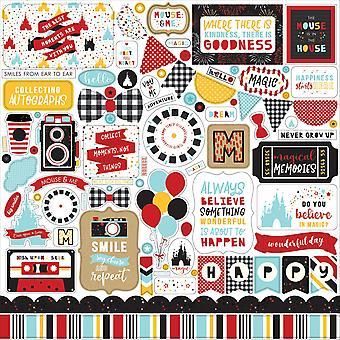 Echo Park Magical Adventure 2 12x12 Inch Element Sticker
