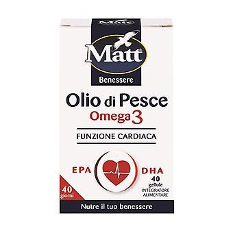 Fish oil - Omega 3 40 softgels of 735mg